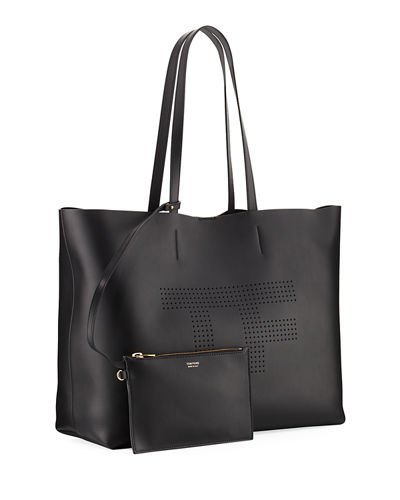 Perforated Logo Tote Bag