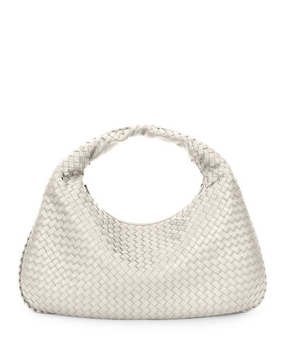 Bottega Veneta Veneta Intrecciato Large Hobo Bag