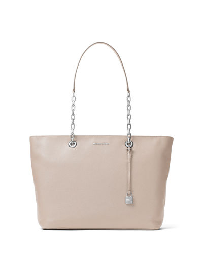 Mercer Medium Chain Leather Tote Bag
