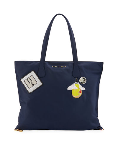 Wingman Patch Nylon Tote Bag