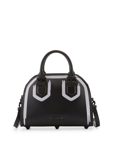 HOLLY SATCHEL PAINT-CALF
