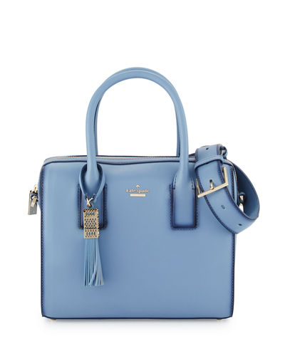 ridley street leather satchel bag