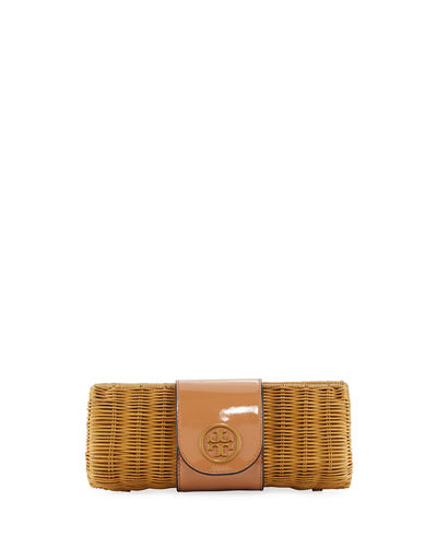 Rattan Straw Clutch Bag