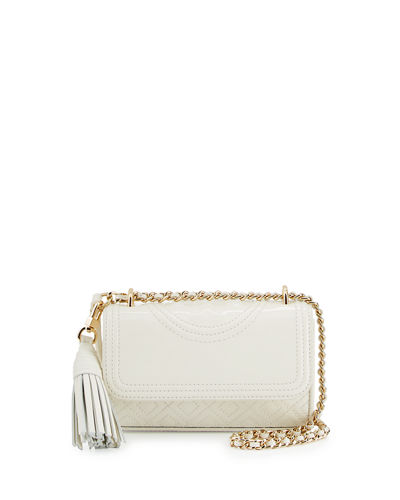 Fleming Micro Patent Crossbody Bag