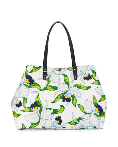 Kerrington Printed Square Tote Bag
