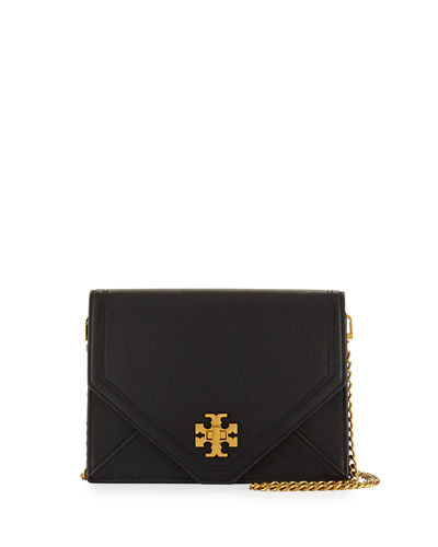 Kira Envelope Leather Crossbody Bag