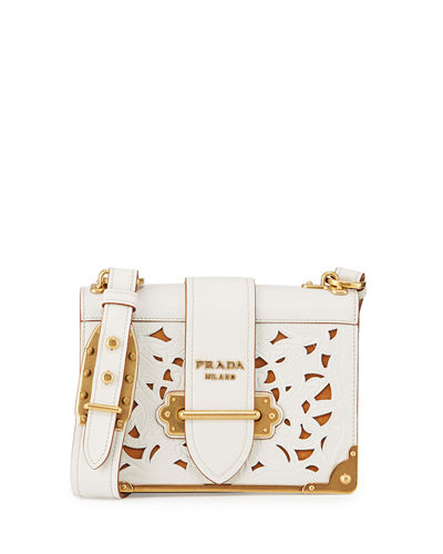 Cahier Laser-Cut Shoulder Bag
