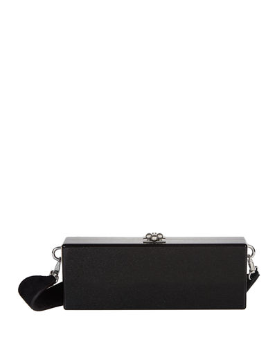 Edie Parker Flavia Box Clutch Bag