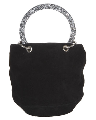 Olivia Small Suede Bucket Bag