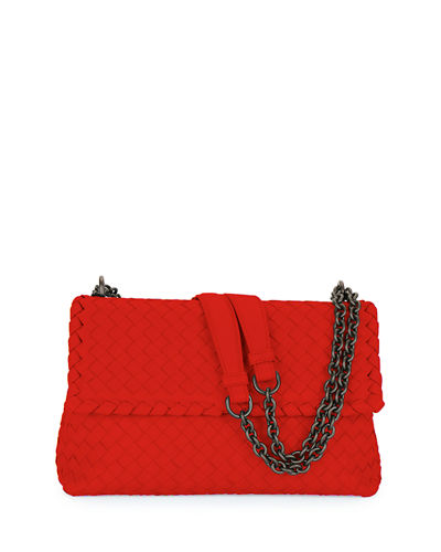 Olimpia Medium Intrecciato Shoulder Bag