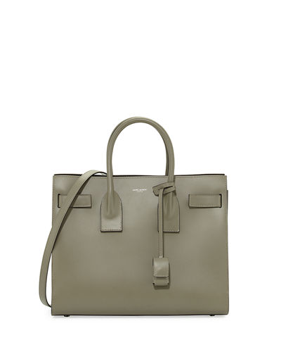 Sac de Jour Small Bonded Leather Satchel Bag