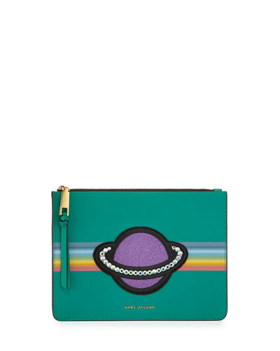 Saturn Flat Crossbody Bag