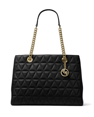 MICHAEL Michael Kors Scarlett Large Quilted Tote Bag