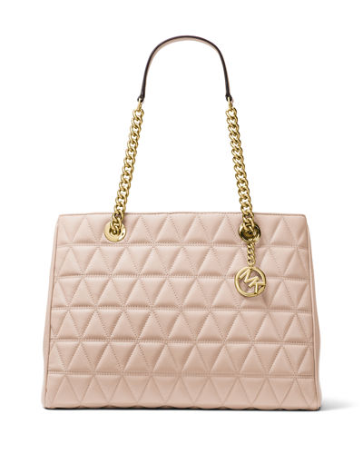 Scarlett Large Quilted Tote Bag