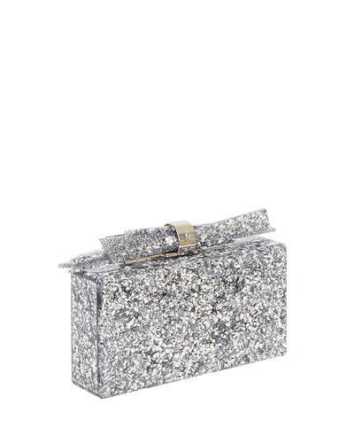Wolf Shard Marbled Resin Clutch Bag