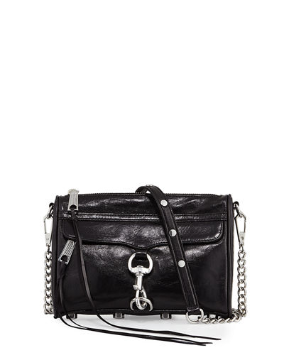 Rebecca Minkoff Mini MAC Smooth Leather Crossbody Bag