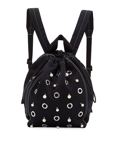 3.1 Phillip Lim Go-Go Medium Satin Knapsack