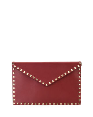 Red Clutch Bag | Neiman Marcus