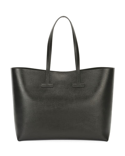 Saffiano Leather T Tote Bag