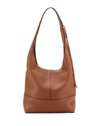 Rebecca Minkoff Unlined Slouchy Whipstitch Hobo Bag