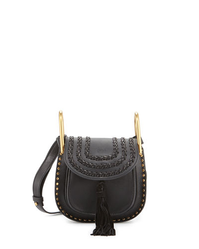 Hudson Mini Leather Saddle Bag