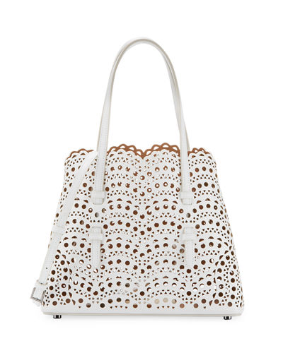 Very Classic Laser Cut Mini Tote Bag