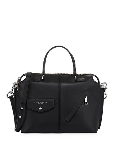 The Edge Leather Satchel Bag