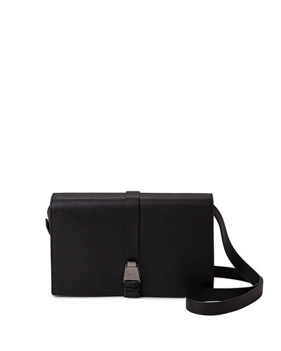 Alice Leather Flap Crossbody Bag