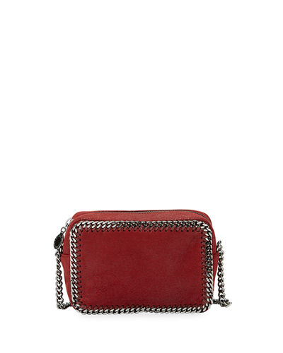Stella McCartney Falabella Whipstitch Camera Crossbody Bag