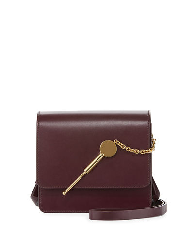 Cocktail Stirrer Small Leather Saddle Bag