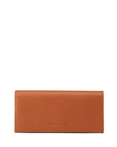 Le Foulonne Pebbled Leather Wallet