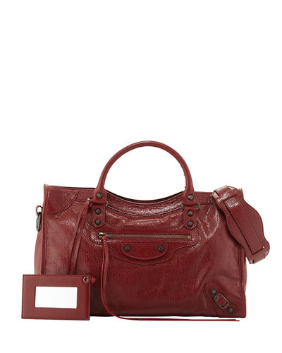 Classic Arena Leather City Bag