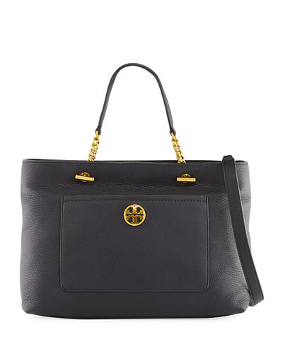 Chelsea Leather Satchel Bag