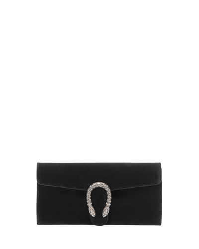 Gucci Dionysus Velvet Clutch Bag