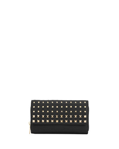 Carry Secrets Rockstud Wallet On A Chain