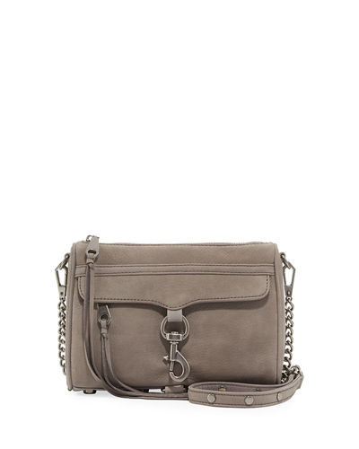 Mini MAC Nubuck Crossbody Bag
