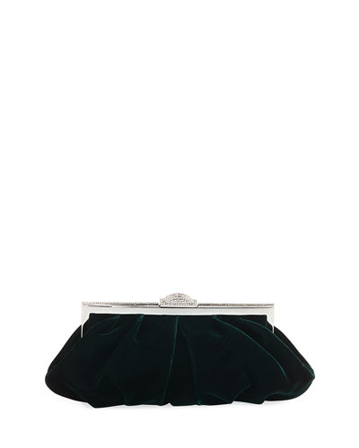 Natalie Velvet Evening Clutch Bag