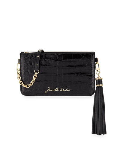 Signature Crocodile Crossbody Bag