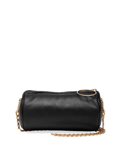 Mini Cylinder Chain Shoulder Bag