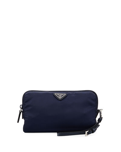 Vela Medium Triangle Cosmetics Bag