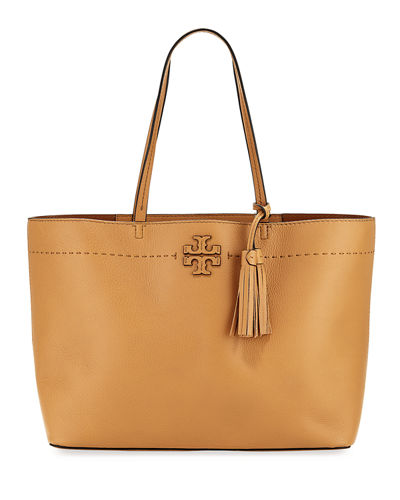 McGraw Pebbled Leather Tote Bag