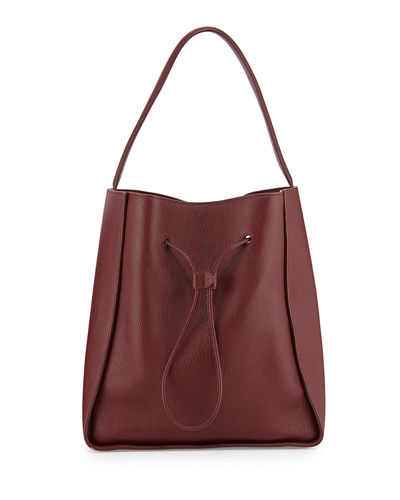 Soleil Large Drawstring Bucket Bag