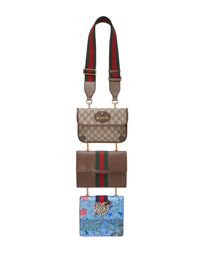 Totem Three-Piece Shoulder Bag, Multi
