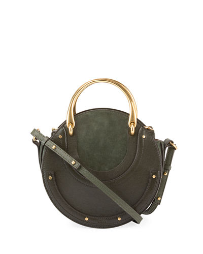 Pixie Medium Round Double-Handle Tote Bag