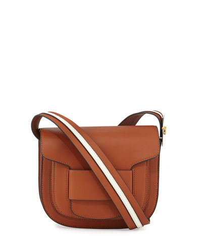 Modern Buckle Saddle Bag
