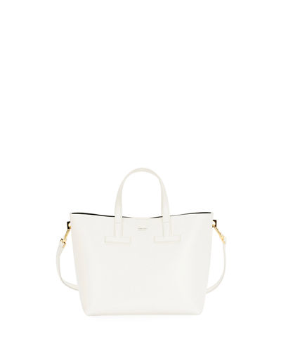 T Tote Crossbody Mini Saffiano Bag