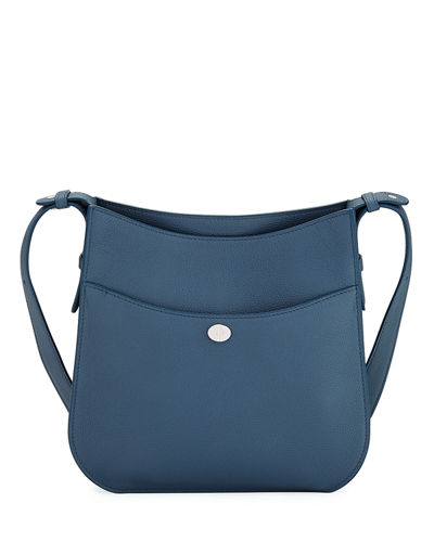 Fleur Medium Leather Crossbody Bag