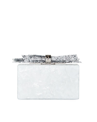 Wolf Acrylic Shard Clutch Bag