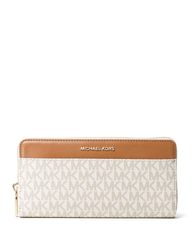 Mercer Logo Twill Continental Wallet with Pocket