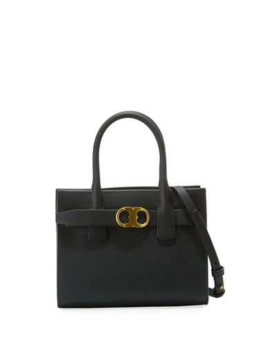 Gemini Small Link Leather Tote Bag